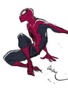 celine-kim:Yup, today is my Spidey daaaay Amazing Spiderman, Spiderman Poses, Spiderman Art, Hq Marvel, Marvel Heroes, Marvel Comics, Character Art, Character Design, Spider Girl