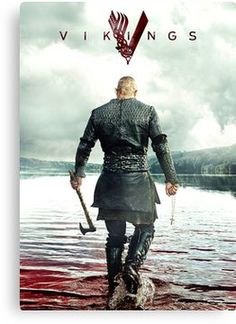 Lothbrok Vikings' Poster by mcache Ragnar Lothbrok Vikings PosterRagnar Lothbrok Vikings Poster Ragnar Lothbrok Vikings, Ragnar Lothbrook, Ragnar Lothbrok Quotes, Wallpaper Vikings, Viking Wallpaper, Vikings Tv Series, Vikings Tv Show, Viking Pictures, Viking Character