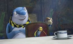 Martin Scorsese, Will Smith, and Jack Black in Shark Tale Dreamworks Movies, Disney And Dreamworks, Cartoon Icons, Cartoon Characters, Angelina Jolie Movies, Shark Tale, Animated Movies For Kids, Cute Patterns Wallpaper, Martin Scorsese