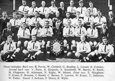 NOTTS COUNTY FOOTBALL TEAM PHOTO 1949-50 SEASON
