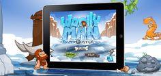 Woollyman Block Buster iPad Game Scene 2