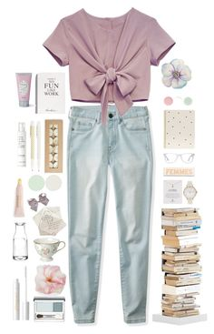"""I want to drown myself in a bottle of her perfume..."" by iesie ❤ liked on Polyvore featuring Aéropostale, Sugar Paper, Nails Inc., Muse, Opinion Ciatti, Rosanna, Dogeared, Clinique, Olivia Burton and Selfridges"