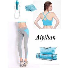 AIYIHAN Yoga Sport outfit http://amzn.to/2bf0ou1