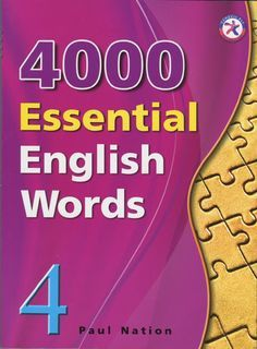 4000 essential english words 4  4000 Essential English Words is a six-book series that is designed to focuson practical high-frequency words to enhance the vocabulary of learnersfrom high beginning to advance levels. The series presents a variety ofwords that cover a large percentage of the words that can be found inmany spoken or written texts. Thus, after mastering these target words,learners will be able to fully understand vocabulary items when theyencounter them in written and spoken…