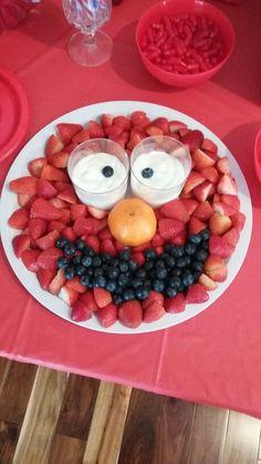 Elmo fruite tray