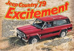 Jeep Country '79 Excitement!