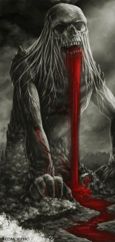 Bloody barf