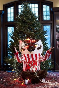 Merry Christmas from Bucky Badger!