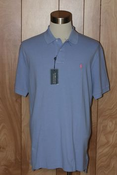 MEN'S POLO RALPH LAUREN WEATHERED MESH POLO SHIRT-SIZE: XL #PoloRalphLauren #PoloRugby