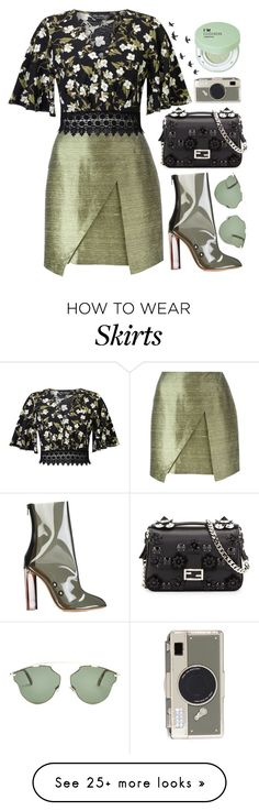 """ Paparazzi!"" by ana3blue on Polyvore featuring Romeo Gigli, Miss Selfridge, adidas Originals, Fendi, Christian Dior, Kate Spade and Forever 21"
