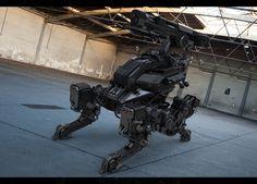 ArtStation - Darkheart Artillery Drone, Aaron Deleon
