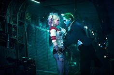 The Joker and Harley Quinn in Suicide Squad (deleted scene still)
