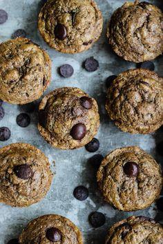 Healthy Zucchini Spelt Muffins