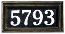 This elegant cast aluminum address plaque has a heavy duty powder coated finish and is built to withstand any weather conditions The Illumi...