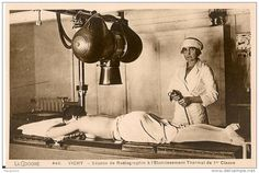 Appareil de radiologie, Vichy (France).