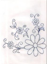 Dibujos para bordar o pintar manteles