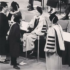 Jimmy Page shaking hand with all the graduates at the Berklee School of Music in Boston, May 10, 2014. He also received an honorary doctorate in music.