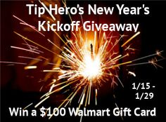 Announcement Post for Tip Hero's New Year's Kickoff Giveaway Event