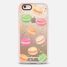 Macaroons ( watercolor pattern ) - New Standard iPhone 6 Case in Peach Pink by @martaolgaklara | @casetify