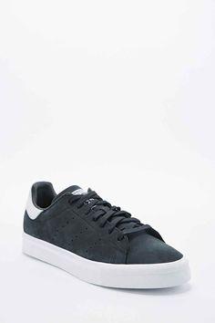 100% authentic 398a7 da626 Adidas Stan Smith Vulc Trainers in Black Adidas Originals, Urban  Outfitters, Träningsskor