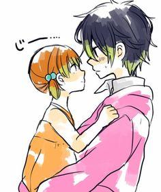 haru and shizuku cute