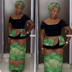 Ankara Peplum Styles 2017 You Might Have MissedLatest Ankara Styles and Aso Ebi Styles 2020 African Print Clothing, African Print Dresses, African Print Fashion, Africa Fashion, African Fashion Dresses, African Prints, African Attire, African Wear, African Women