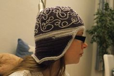 Nadelbinden Mütze / Naalbinding Hat