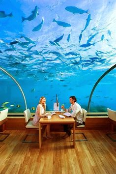 10 Amazing Hotels to Visit - Conrad Maldives, Rangali Island