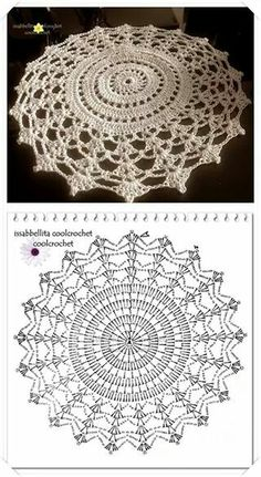 Patterns and motifs: Crocheted motif no. A rhombus crochet and other ideas for inspiration. Crochet Pillow Pattern, Crochet Doily Patterns, Crochet Diagram, Crochet Chart, Crochet Motif, Irish Crochet, Crochet Doilies, Crochet Flowers, Crochet Stitches