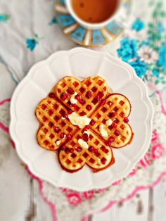 sweetsugarbean: Yeasted Brown-Butter Waffles & How Ren Got Her Groove Back