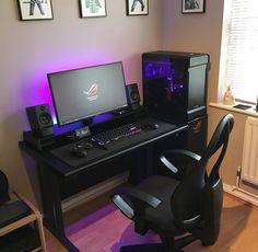 Lovely Small Desk Setup