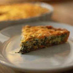 Spinach Quiche Allrecipes.com