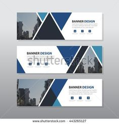 blue black triangle abstract corporate business banner template horizontal advertising business banner layout template flat design set clean abstract cover header background for website design Header Design, Web Design, Website Design, Web Banner Design, Website Layout, Design Set, Flat Design, Web Layout, Stand Design
