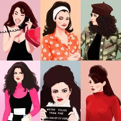 Nanny Outfit, 90s Outfit, Fran Fine The Nanny, Fran Fine Outfits, Miss Fine, Bullet Art, Fran Drescher, Retro, Fashion Sketches