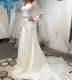 bishop sleeve wedding dress inside alta moda bridal