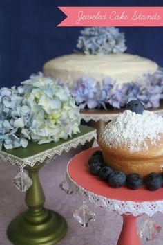 Vintagey cake stands