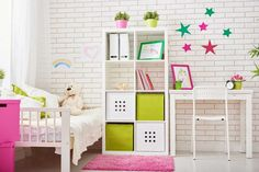 Kids' room Decor, baby room ideas, girls room decor, room decor, home accessories Kids Room Furniture, Teen Girl Bedrooms, Bedroom Colors, Bedroom Ideas, Home Accessories, Room Decor, Decoration, Trellis Design, Roommates