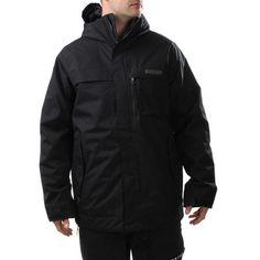 New Mens Burton Poacher Snowboard Jacket Extra Small True Black XS