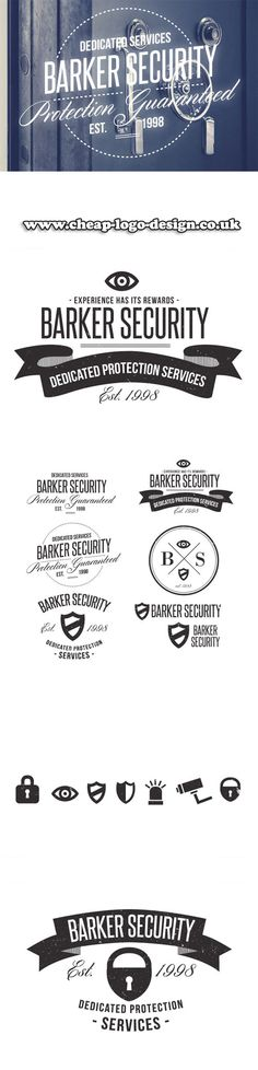 security company logo ideas www.cheap-logo-design.co.uk #securitylogo #securitycompany #logoideas