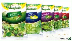 Bonduelle Food Packaging, Packaging Design Inspiration, Beauty Care, I Am Awesome, Label, Rice, Packing, Fresh, Vegetables