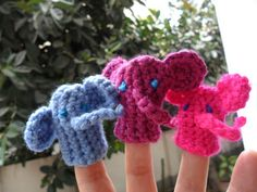 http://worthaknit.blogspot.com/2012/04/new-pattern-ellie-elephant-finger.html