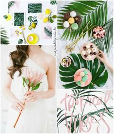 paleta de cores tropical color palette casamento wedding inspire brides 2