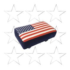 Awesome Your Feet Deserve This Jonathan Adler US Flag Needlepoint Footstool On  Http://byrnenotice Amazing Pictures