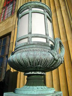 Rochester NY post office lamp-