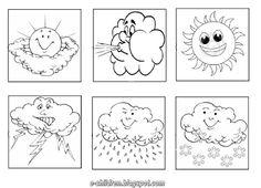 for yr 2 aw test Preschool Education, Preschool Crafts, Weather Calendar, Kindergarten, Italian Vocabulary, Blog Backgrounds, Teaching Skills, Weather Seasons, Weather Activities