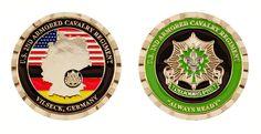 VILSECK 2ND CAV GERMANY COIN - ITEM CC-1262
