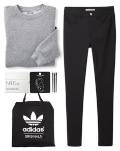 """Untitled #271"" by mazeau ❤ liked on Polyvore featuring adidas Originals, Acne Studios, Blair, NARS Cosmetics and Topshop"