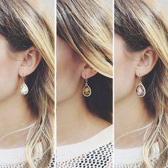 Our Minaret Drop Earrings x3