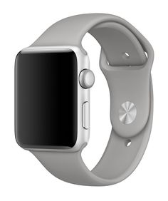Apple Watch, Series 2 with concrete sport band.
