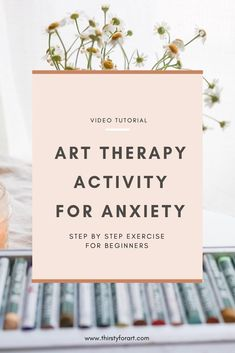 Art Therapy for Anxiety Hi! I have created an easy self art therapy activity video for anxiety relief that will help you release some stress or tension, and feel renewed and refreshed at the end. Watch how to do this creative self care exercise here . Art Therapy Projects, Art Therapy Activities, Therapy Tools, Kids Therapy, Anxiety Activities, Feelings Activities, Therapy Ideas, Physical Activities, Creative Arts Therapy
